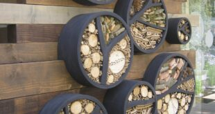 11 Inspirations for Insect Hotels - 1001 Gardens