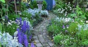 75 Various Cottage garden ideas for front yard inspiration
