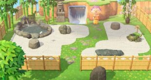 """Animal Crossing Designs on Instagram: """"If you're looking for zen garden ideas, check this design out! The creator code for the path is MA-4090-3970-2330. — #crossingcreations…"""""""