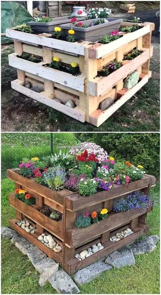 Most Affordable and Simple Garden Furniture Ideas: 1.Old Pallets Coach -   - #1O...