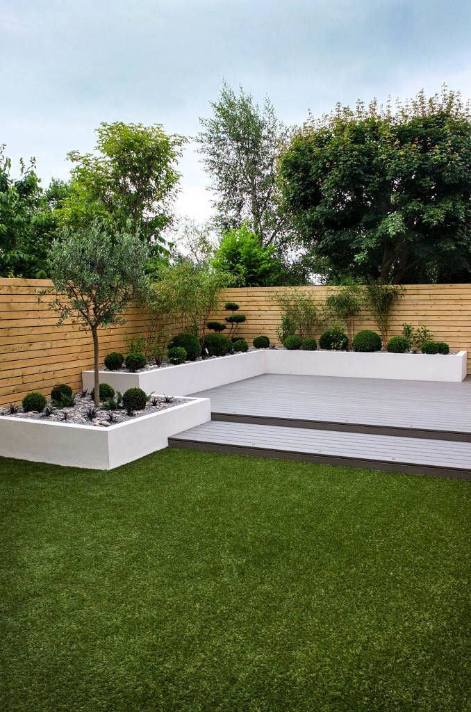 Small, low maintenance garden minimalist style garden by yorkshire gardens minimalist wood-plastic composite   homify