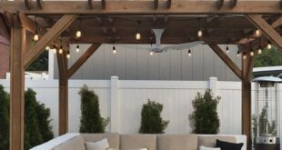 The Backyard : One Year Later - Room for Tuesday Blog