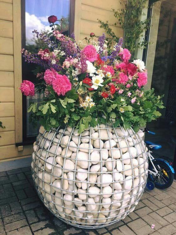 Top 50 Modern Gabion Planter Ideas And Learn How To Build It - Engineering Discoveries