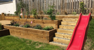 What to do with a sloping garden| Papillon blog